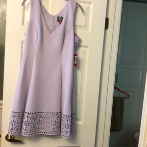 NWT. Vince Camuto Lavender dress